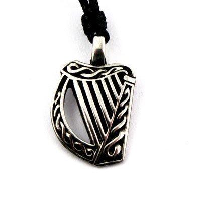 (Irish Harp Necklace Celtic Legends From Ireland )