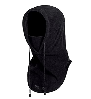 Zerdocean Fleece Thermal Hood Windproof Motocycle Ski Mask Face Cover Balaclava