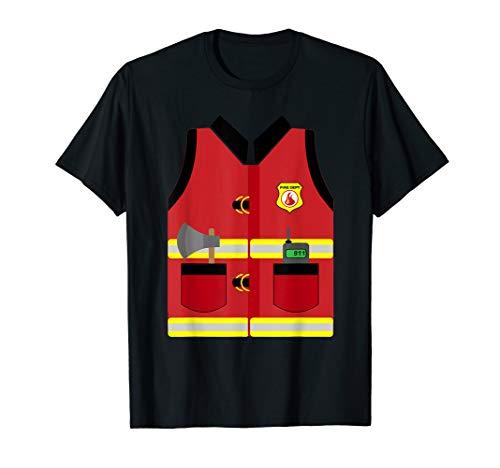 Diy Fireman Halloween Costume (Fireman Uniform Firefighter Costume Halloween DIY Gift)