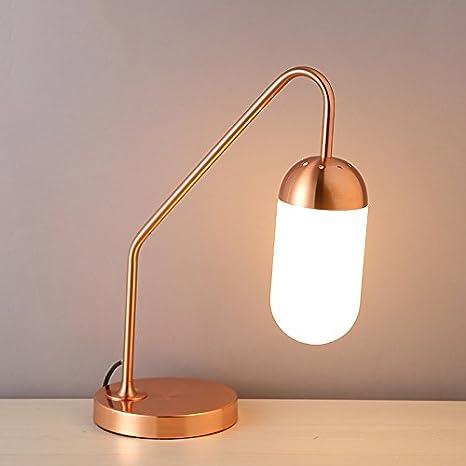 YONGJUN Lámpara de Mesa del LED, Vertical, lámpara de ...