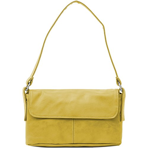 23 Mademoiselle M3 CM M3 Gelb Yellow Mademoiselle zwei 23 zwei Handbag Handbag pqwngtf8x