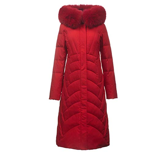 Thermal Winter Coat Ladies Down Jackets, Windproof Warm Stand Collar Parka Coat