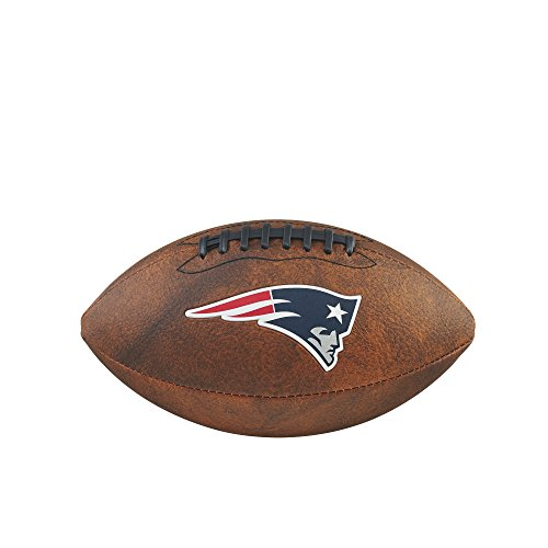 NFL Junior Throwback Team Logo Football - New England Patriots