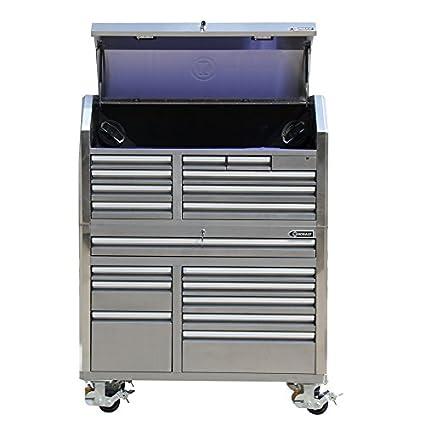 .com: kobalt 53-in w x 68.7-in h 18-drawer ball-bearing ...