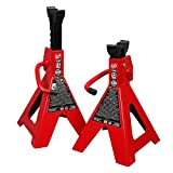 Torin Big Red Steel Jack Stands: 12 Ton (24,000 lb) Capacity, 1 Pair