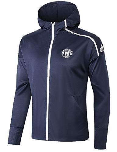 2bc012a30c4 YTATime New Men s Manchester United Full Zip Navy Hoodie (Medium)