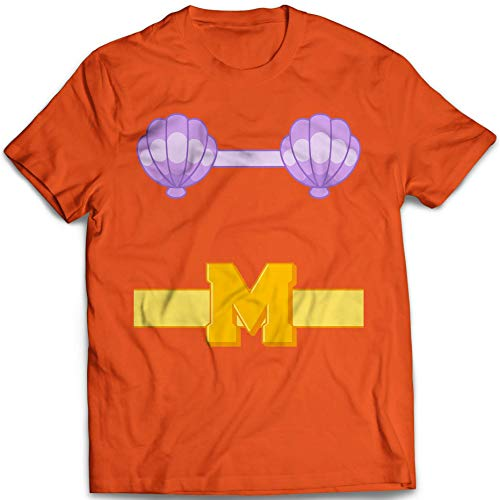 Mermaid Man Halloween Costume Funny Merman Customized T-Shirt | Long-Sleeve | Hoodie | Tank Top | Sweatshirt -
