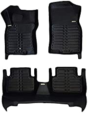 TuxMat Custom Car Floor Mats for Nissan Qashqai 2017-2021 Models- Laser Measured, Largest Coverage, Waterproof, All Weather. The Ultimate Winter Mats, Also Look Great in the Summer.The BestNissan Qashqai Accessory. (Full Set - Black)