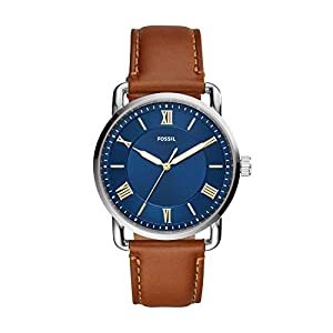Fossil Analog Blue Dial Men's Watch-FS5661