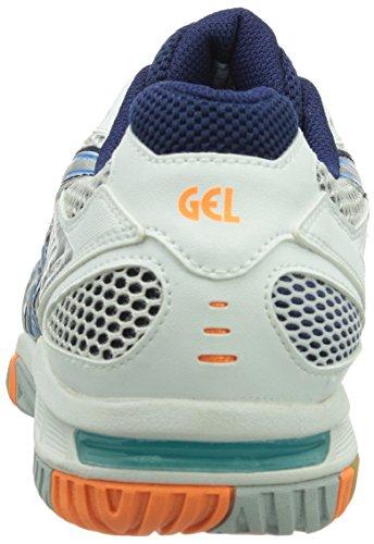 Chaussures Asics 0141 Blanc Blue De bleu tactic Fitness Homme Multicolore Gel diva white lightning E11nqxOS