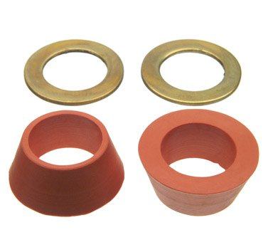 Danco Cone Washer 7/8 '' Od. X 1/2 '' Id. X 3/8 '' H, For 1/2 '' Od. Tubing Rubber Polybag