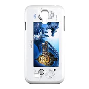 Samsung Galaxy S4 9500 White phone case PSP Monster Hunter Dinosaur JHQ4427908