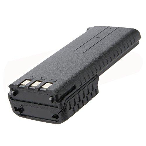 NKTECH BL-5L 7.4V 3800mAh Extended Li-ion Battery For Baofeng Pofung UV-5R V2+ 5RQ BF-F8 F8+ F9 TYT TH-F8 Two Way Radio Walkie Talkie Black Pack of 13