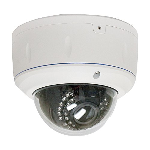 GW Security 2 Megapixel HD 1080P Indoor Video Network ONVIF CCTV TVI Dome IP Camera with 6-32mm Varifocal Len