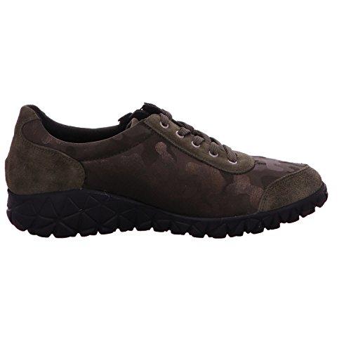 H89001 de Vert 079 à Chaussures Waldläufer ville 200 femme pour lacets I76xFg