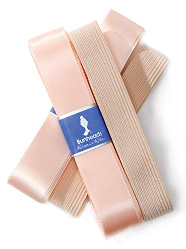 Capezio Rehearsal Ribbon & Elastic Pack - Size No Size, Light Professional Pink