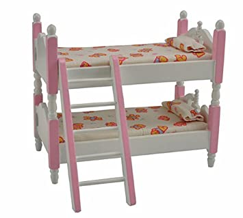 New Dolls House Bunk Bed Amazon Co Uk Toys Games