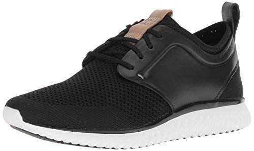 Cole Haan Men's Grand Motion Knit Sneaker, Black/Optic White, 8 Medium US from Cole Haan