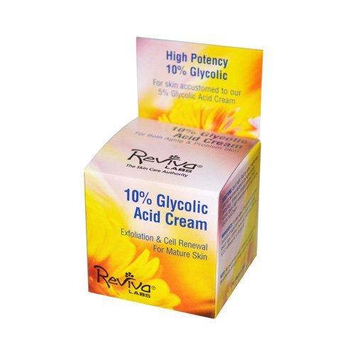 5% Glycolic Acid Cream - Reviva Labs 10% Glycolic Acid Cream -- 1.5 oz - Pack of 2