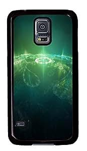 Samsung Galaxy S5 Green Earth PC Custom Samsung Galaxy S5 Case Cover Black