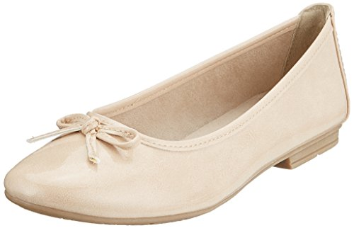 Softline Beige Women's Flats Dune Ballet 22163 Patent rqrpSwRx