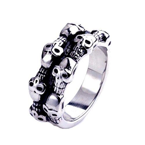 Midnight Dragonfly Costume (RI1210042C4 2016 Titanium Steel Europe Style Geometric Plating Men's Ring)