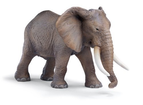 Male African Schleich Elephant - Schleich African Elephant, Male 14341 by Schleich