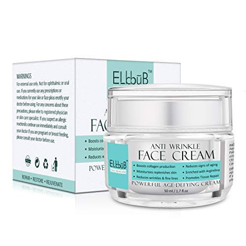 Powerful AgeDefying Face Cream - Face Moisturizer For Dry Skin, Anti Wrinkle Cream with Hexapeptide, Retinol, Ascorbic acid Anti Wrinkle, Reduce Signs of Aging