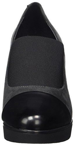 Nr Rapisardi Damen N200 Pompe Grau (chamoias Asfalto / Nero Boston 06cmbt-e)