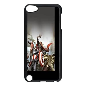 Avengers Characters Illustration iPod Touch 5 Case Black DIY gift pp001-6354053