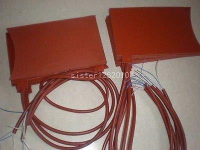 FidgetFidget Rubber Silicon Band Metal Oil Drum Heater Electric Heater 220V 200MMx300MM by FidgetFidget (Image #1)