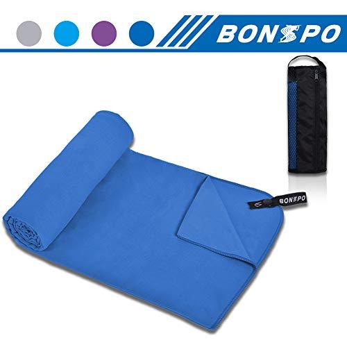 BONSPO Microfiber Towel Quick Dry Beach Camping