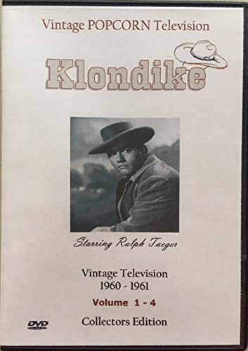 Klondike  Television Show 16 Shows On 5 Dvds Bonus Complete  Dangers Of The Canadian Mounted  12 Chapter Serial