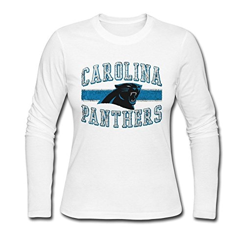 Carolina Panthers Team Honor Tee XXL White For Women 100% Cotton
