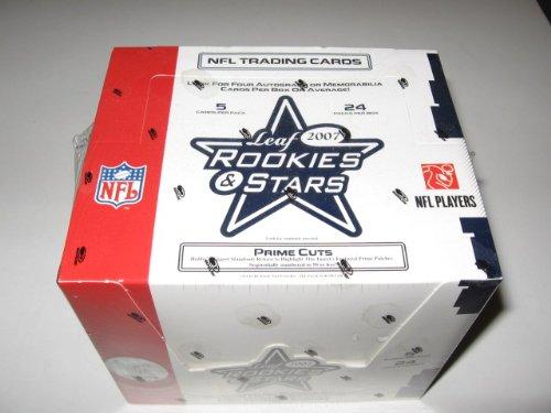 2007 Leaf Rookies & Stars Football Box (Hobby)