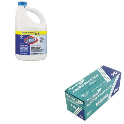 (KITCOX30966CTRFP910M - Value Kit - Reynolds Metro Light-Duty Film with Cutter Box (RFP910M) and Clorox Germicidal Bleach (COX30966CT))