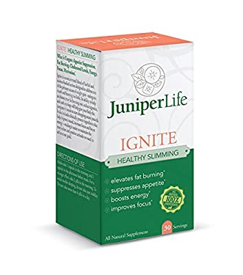 Ignite - Healthy Slimming w/Cissus & Irvingia - Appetite Suppressant, Fat Burning, Carb Blocker, Energy Focus and Motivation