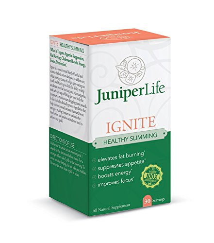 Ignite - Healthy Slimming w/Cissus & Irvingia - Appetite Suppressant, Fat Burning, Carb Blocker, Energy Focus and Motivation