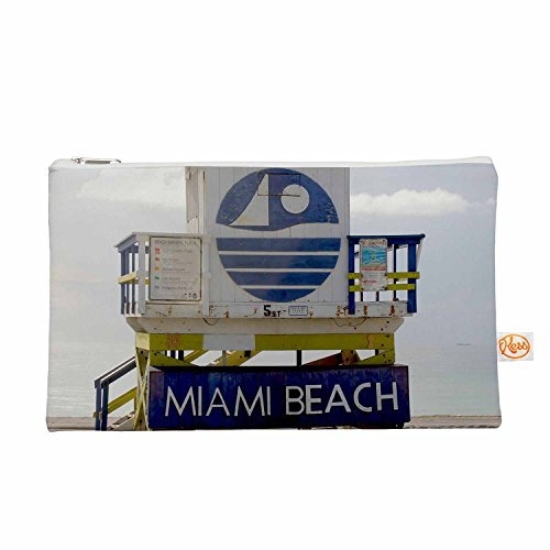 "KESS InHouse Philip Brown ""Miami Beach Lifeguard"" Blue Mu..."