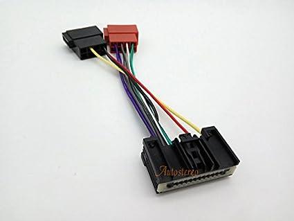 Amazon.com: Autostereo Car Radio Cable Wire Harness Plug ISO ... on cable harness plug, wire rope plug, wire connector plug, wire handcuffs, fuel tank plug, alternator plug, queen harness plug, wire power plug, radiator plug, battery plug,