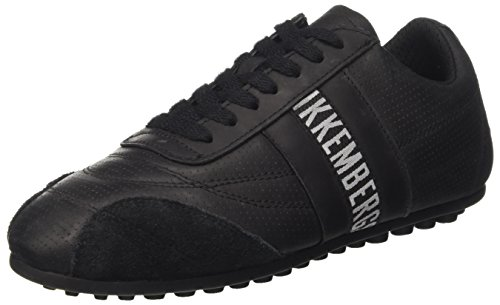 BIKKEMBERGS Unisex-Erwachsene Soccer 106 Low-Top Nero (Black)