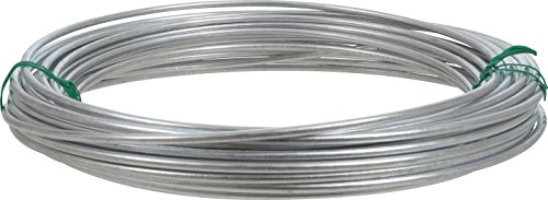 Hillman 122062 Galvanized Solid Wire 9 Gauge, 50 foot coil -