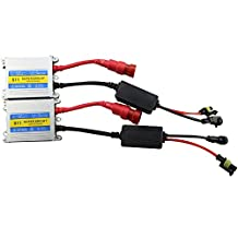 HID Ballast,Car Rover Replacement HID Ballast 35W For H1 H3 H4 H7 H10 H11 9005 9006 All Sizes,DC 12V Slim Ballast (Pack of 2)