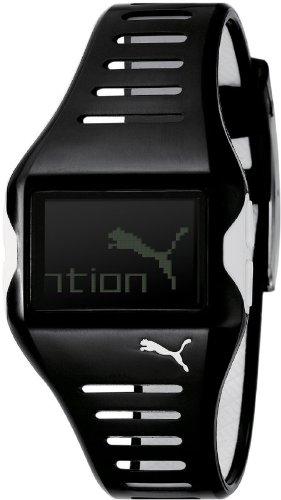 Puma 4404785 - Reloj digital de cuarzo para hombre con correa de caucho, color negro: Puma: Amazon.es: Relojes