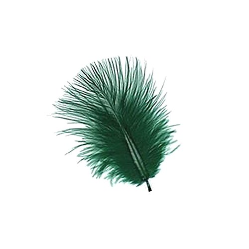 (8 G Dark Emerald Green Turkey Marabou PP)
