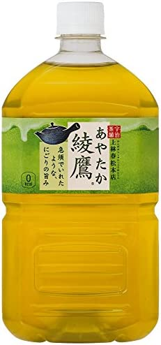 [スポンサー プロダクト]コカ・コーラ 綾鷹 1LPET×12本