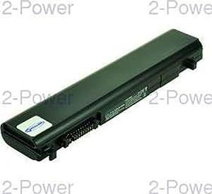 2-Power CBI3255A Ión de litio 5200mAh 10.8V batería recargable - Batería/Pila recargable (Ión de litio, 5200 mAh, Notebook / Tablet, 10,8 V, Negro, Toshiba Portege R700)