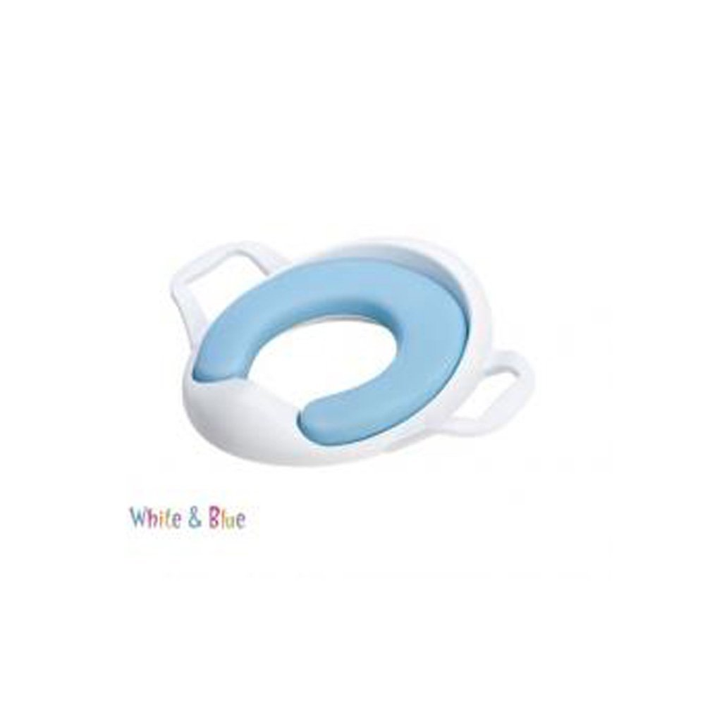 The Neat Nursery Co Comfy Training Seat - White/Blue