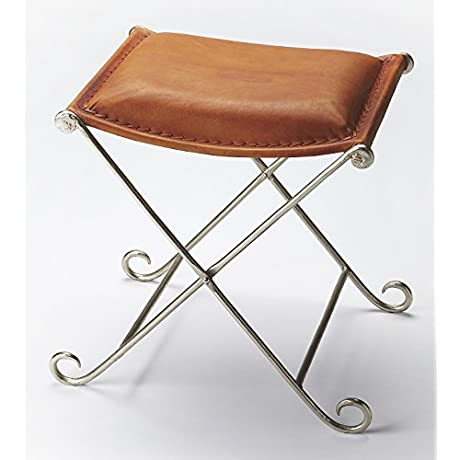 Leather Rectangular Stool 596210
