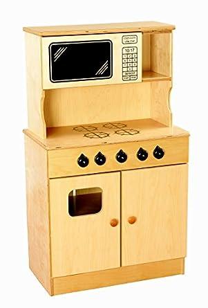 amazon com childcraft traditional play stove and microwave combo rh amazon com